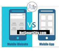 مقایسه بین وب سایت و اپلیکیشن